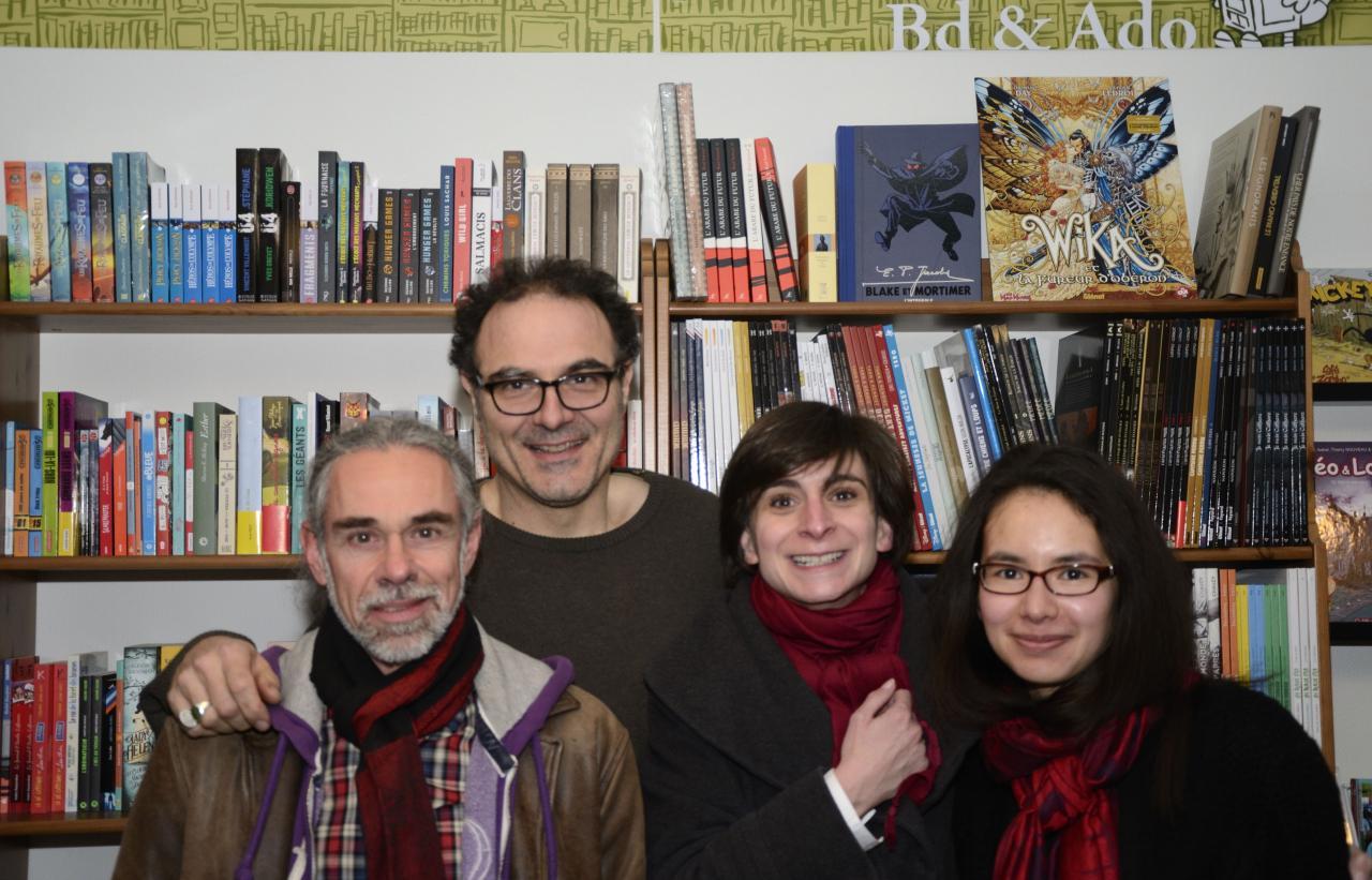 L'auteur et les libraires
